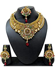 Bollywood Designer Ethinic Indian Premium Heavy Design Bridal Necklace Set