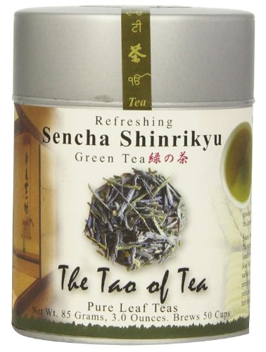 The Tao Of Tea, Sencha Shinrikyu Green Tea, Loose Leaf, 3 Ounce Tin