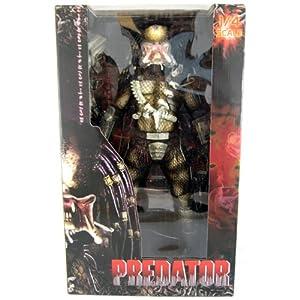 NECA Predator Movie Quarter Scale Action Figure Classic Predator Open Mouth