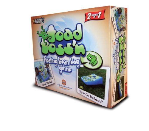 Driveway Games Toad Toss'n - Floating Bean Bag Toss Game