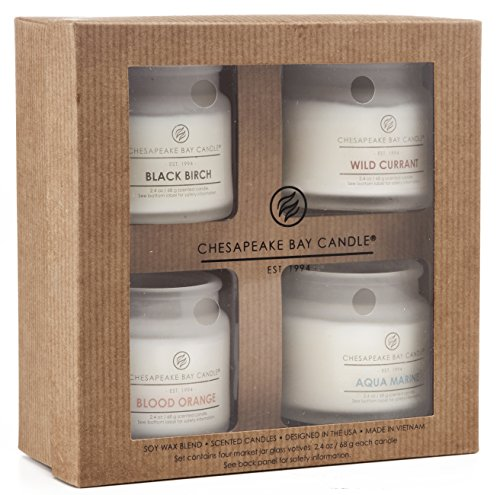 Chesapeake Bay Candle PT92147 Heritage Collection Votive Candles, Set of 4 (Housewarming Gift Candles compare prices)