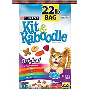 Purina kit and kaboodle dry cat food for Purina game fish chow