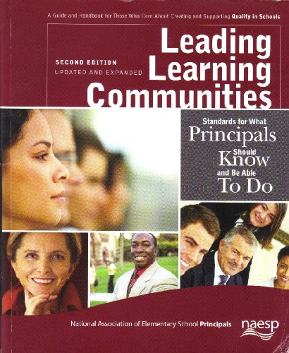 Leading Learning Communities: Standards for What...