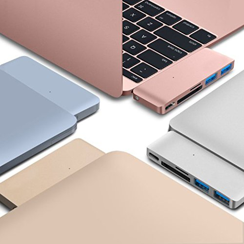 新 MacBook用 薄型 USB Type C Hub SDカードリーダー...
