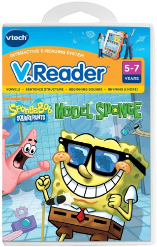 VTech - V.Reader Software - SpongeBob SquarePants - 1