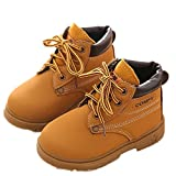 Decorie Winter Warm Cool Fashion Army Style Martin Boot for Baby Child Shoes (2-3 Years, Yellow)