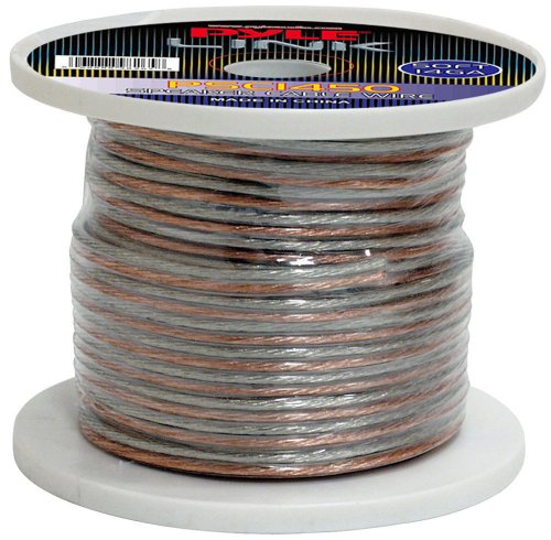 Pyle Psc1450 14-Gauge 50-Feet Spool Of High Quality Speaker Zip Wire