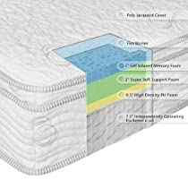 "Big Sale Sleep Master 13"" MyGel® iCoil® Box Top Hybrid Mattress - Queen"