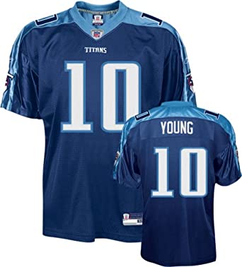 Vince Young Tennessee Titans Blue Kids NFL Football Jersey by Reebok