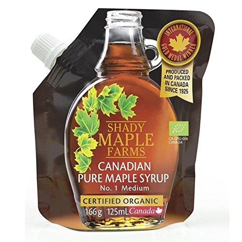 Ombragé Érable No 1 Milieu Organique Érable Canadien Sirop De 125Ml - Paquet de 2