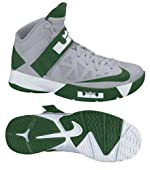 Nike 525017002 Zoom Soldier VI TB Men's Basketball Shoes (Wolf Grey/Gorge Green-White)