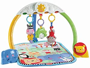 Fisher-Price Discover 'n Grow Tracking Lights Musical Gym
