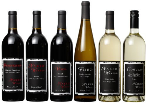 Naked Winery  Naked 6 Pack Mixed Pack, 6 X 750 mL