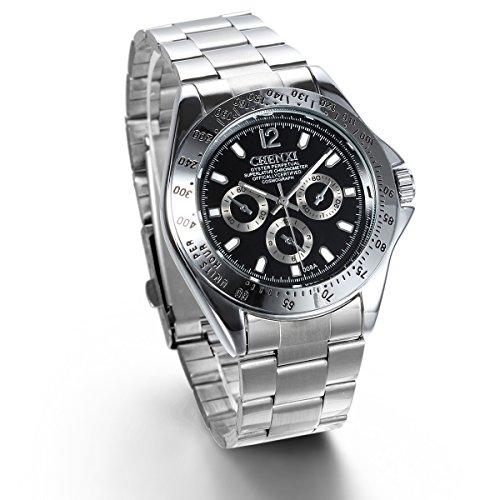 jewelrywe-orologio-uomo-display-neropointer-argento-bracciale-argento-in-acciaio-inossidabile