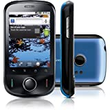Huawei U8150 Ideos Unlocked GSM Phone with Android OS, 3.1 MP Camera, Wi-Fi, GPS Navigator, Stereo Bluetooth, and microSD Slot--US Warranty (Black/Blue)