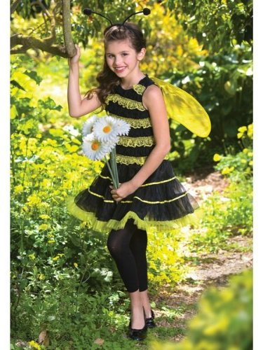 Ruffled Bumble Bee Child/Tween Costume