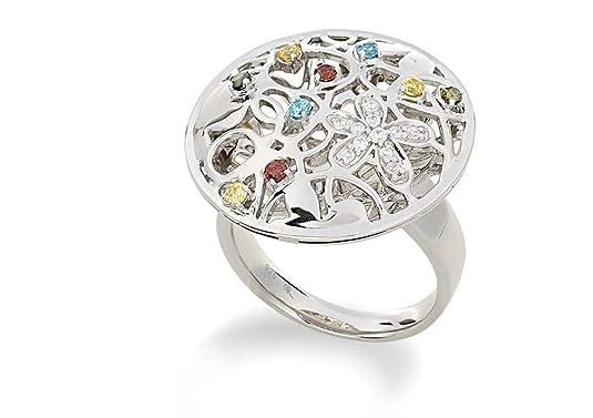 ALVINA ZR-3568 Silver Ring