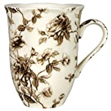 Brown Toile Mug