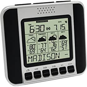 Weather Direct WA-1140U Talking Wireless Weather Station