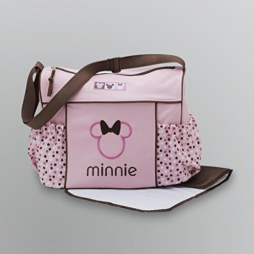 Disney Baby Minnie Mouse Diaper Bag - 1