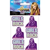 Hannah Montana Erasers, 12ct.