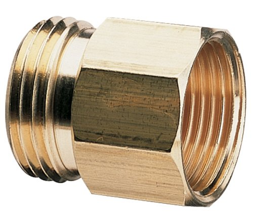 Nelson Industrial Brass Pipe and Hose Fitting for Male 3/4-Inch NPT to Female Hose, Male and Female 50578 banjo hb150 125 90 polypropylene hose fitting 90 degree elbow 1 1 2 npt male x 1 1 4 barbed