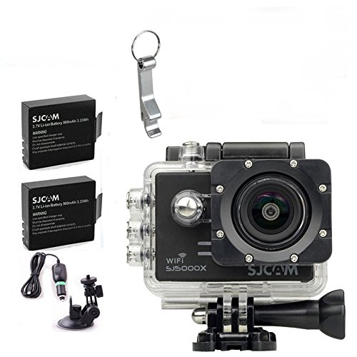 Onebird SJCAM SJ5000X élite GYRO 4K 24 2K SPORT Action caméra 1080p Full HD, DV voiture 2.0 » NTK96660 plongée 30m casque étanche caméra DVR ( Plus