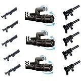 LEGO Star Wars / Little Arms Waffenset: 3 x Minigun Pathmaker (Z-6 Rotationsblaster) und 5 x Tommy Gun sowie 5 x Rifle für Clone Trooper- global 13 Des armes pour votre collection