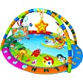 Baby Playmat, Play Gym, Musical Activity Gym stunning Happy Angel