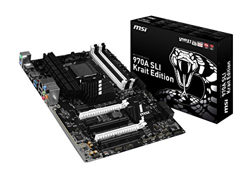 MB AMD AM3+ MSI 970A-SLI Krait 7693-050R Scheda Madre
