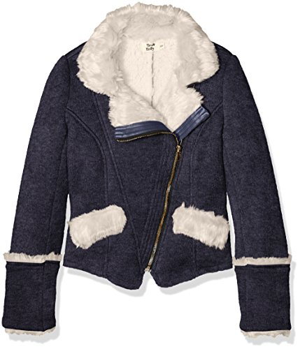 Molly Bracken MMS011H16, Impermeable Bambina, Blu (Navy Blue), 11 Anni