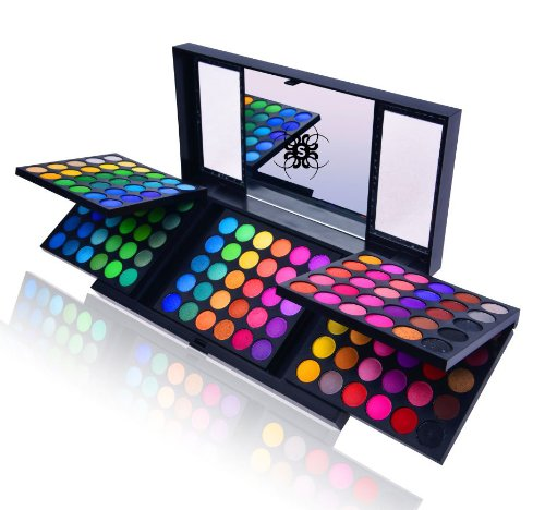 SHANY 180 Color Eyeshadow Palette (180 Color Eyeshadow Palette, United Colors of SHANY, Neon Frenzy, Limited), 6.25 Ounce