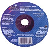 Shark 12767    4.5-Inch by 0.125-Inch by 0.875-Inch Flexible Grinding Wheels, Grit-36