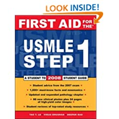 First Aid for the USMLE Step 1: 2008 (First Aid USMLE)