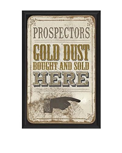 The Artwork Factory Gold Dust Framed Art