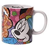 Disney by International Artist Romero Britto for Enesco Minnie Mouse Mug  4.25 IN