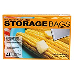 Full Mesh Storage Bags, Quart, 100-ct.