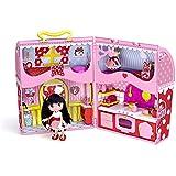 I Love Minnie - Casa-maletín con muñeca (Famosa 700010761)