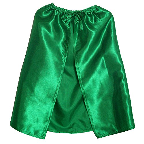 "Green 20"" Satin Cape"