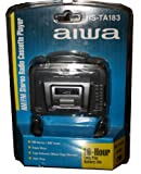 Aiwa HSTA183 Headphone Radio Cassette Player