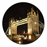 London Tower Bridge Fridge Magnet Stocking Filler, Ref:PLA-LO1FM