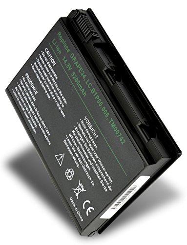 Batterie de remplacement pour Acer TRAVELMATE 7320 ( 5200mAh / 14.4V )