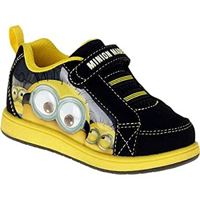 despicable me minions boys velcro athletic