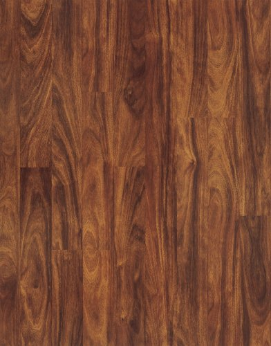Pergo 02616 Accolade Laminate Flooring, 7.6-Inch by 47.5-Inch Plank Size with 17.59 Total Square Feet Per Carton, Midnight Mahogany