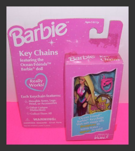 Barbie Key Chain~ Ocean Friends Barbie - 1