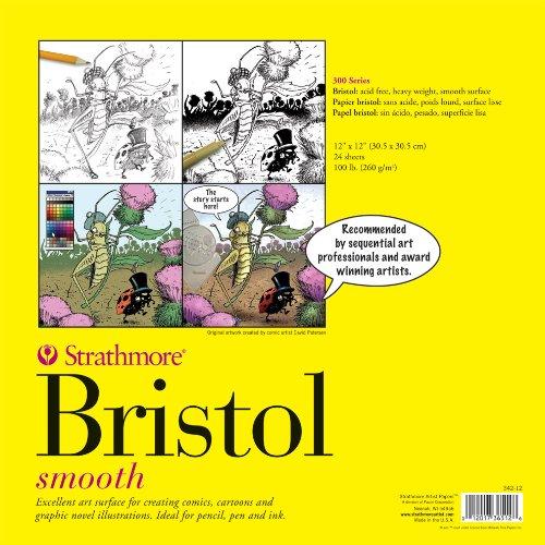 strathmore-artist-papers-300-series-bristol-papel-con-superficie-lisa-5715-x-7239-cm