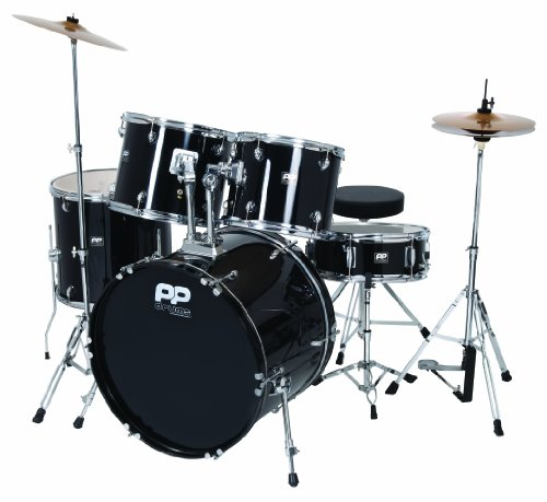 performance-percussion-pp250blk-5-piece-drum-kit-black