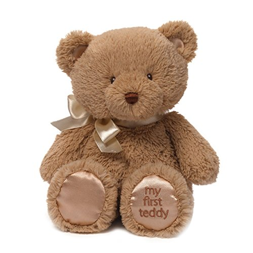 Gund My First Teddy Bear Baby Stuffed Animal, 10 inches (Brown Bear Stuffed Animal compare prices)