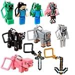 Minecraft Toy Action Figure Hanger Se...
