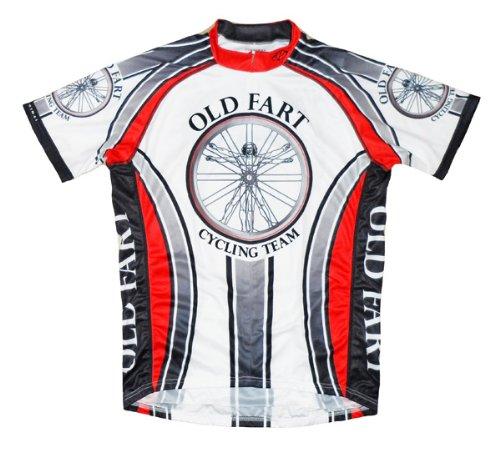 Buy Low Price Old Fart Cycling Team Jersey by Primal Wear Vitruvian Man Men's Short Sleeve (B008WDRHTY)